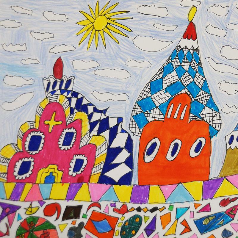 """1-во място училища: """"Барселона, Испания"""", Карина Бинева, 8 г., Варна"""