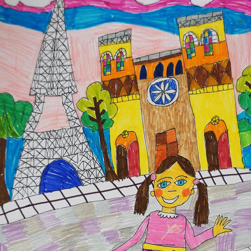 """""""Париж"""", Ирис Ганева, 8 г., Варна"""
