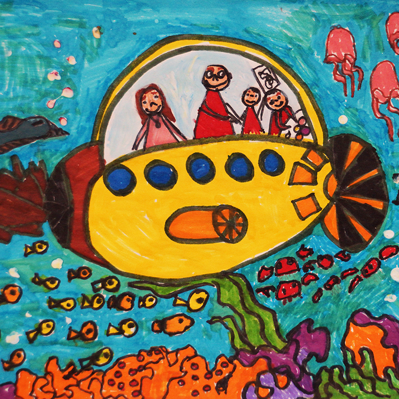 """""""Подводен свят, Австралия"""", Симеон Николов, 6 г., София"""